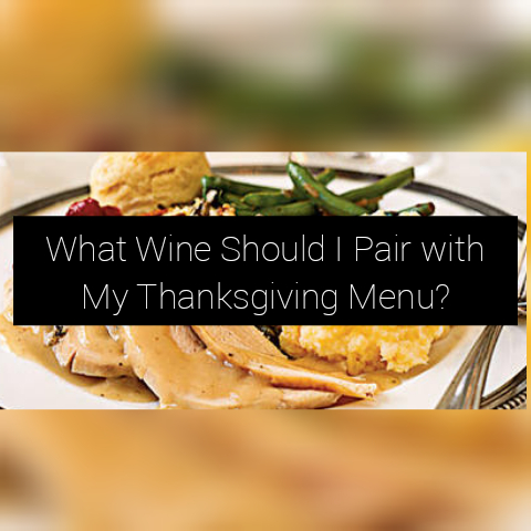 Wine Pairing Wednesday: Thanksgiving Menu