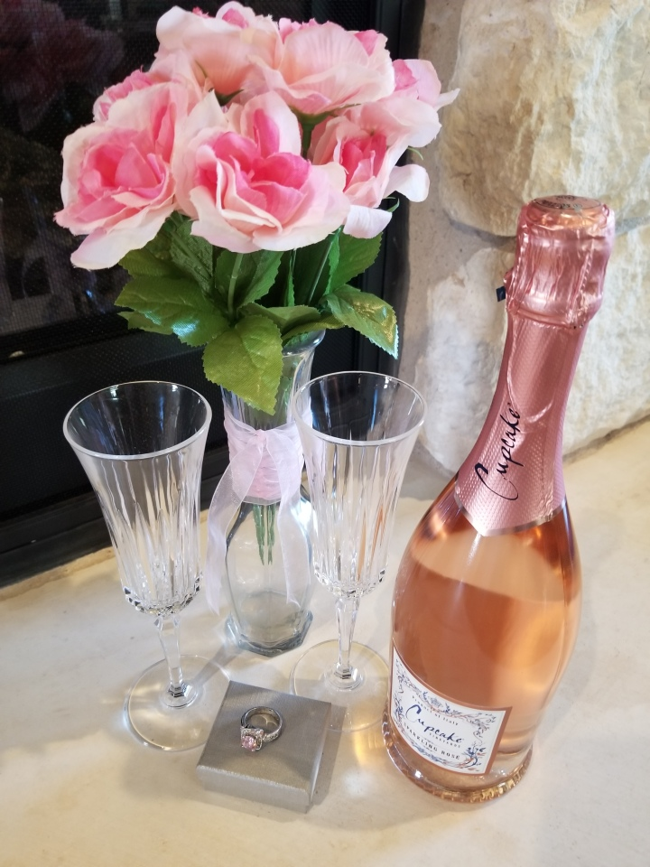 Sweet Wines with Your Sweetheart Series: Sparkling Rose' by Cupcake Vineyards