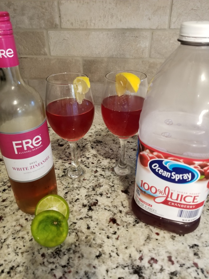 Wine Cocktail: Pinkie Promise with a Twist